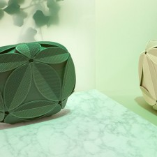 Ivy: The New Tropical 3D Printed Clutch by Maison 203