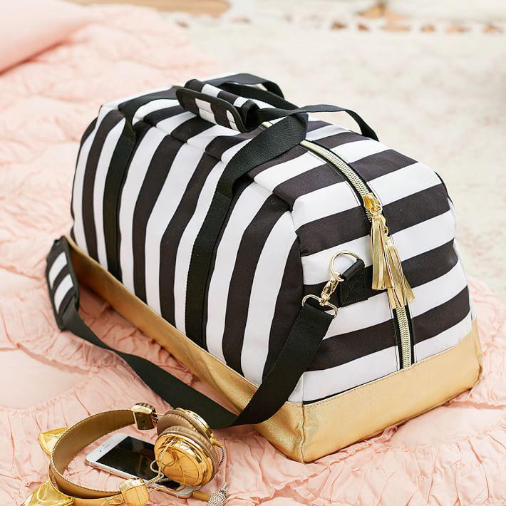 Emily-Meritt-black-white-stripe-duffle-01