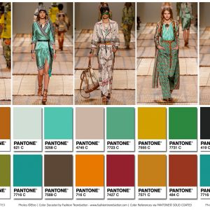 Etro Spring Summ...Pantone Color Of The Year 2017 Fashion