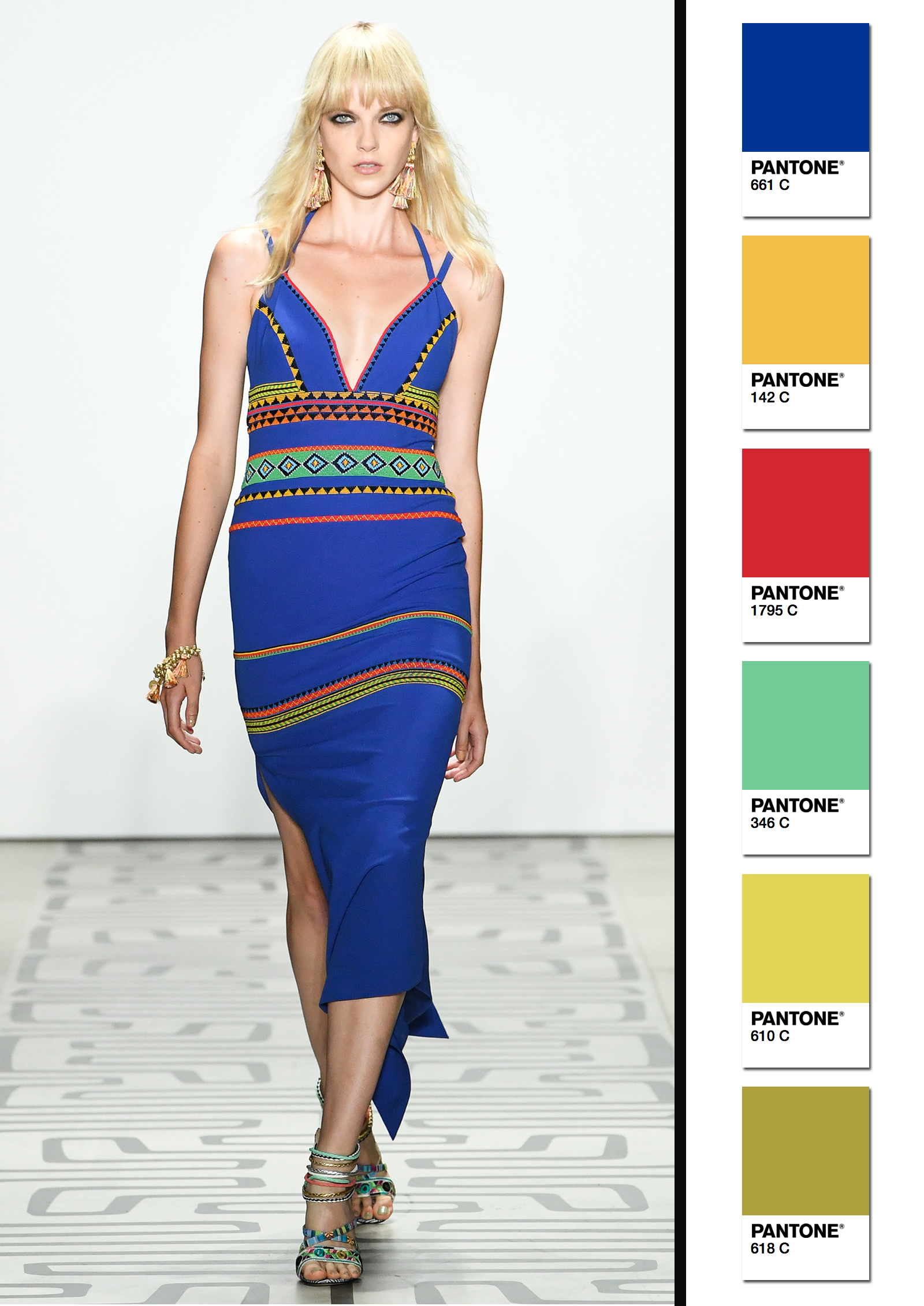 Nicole Miller Spring/Summer 2017 Collection Color Codes 2