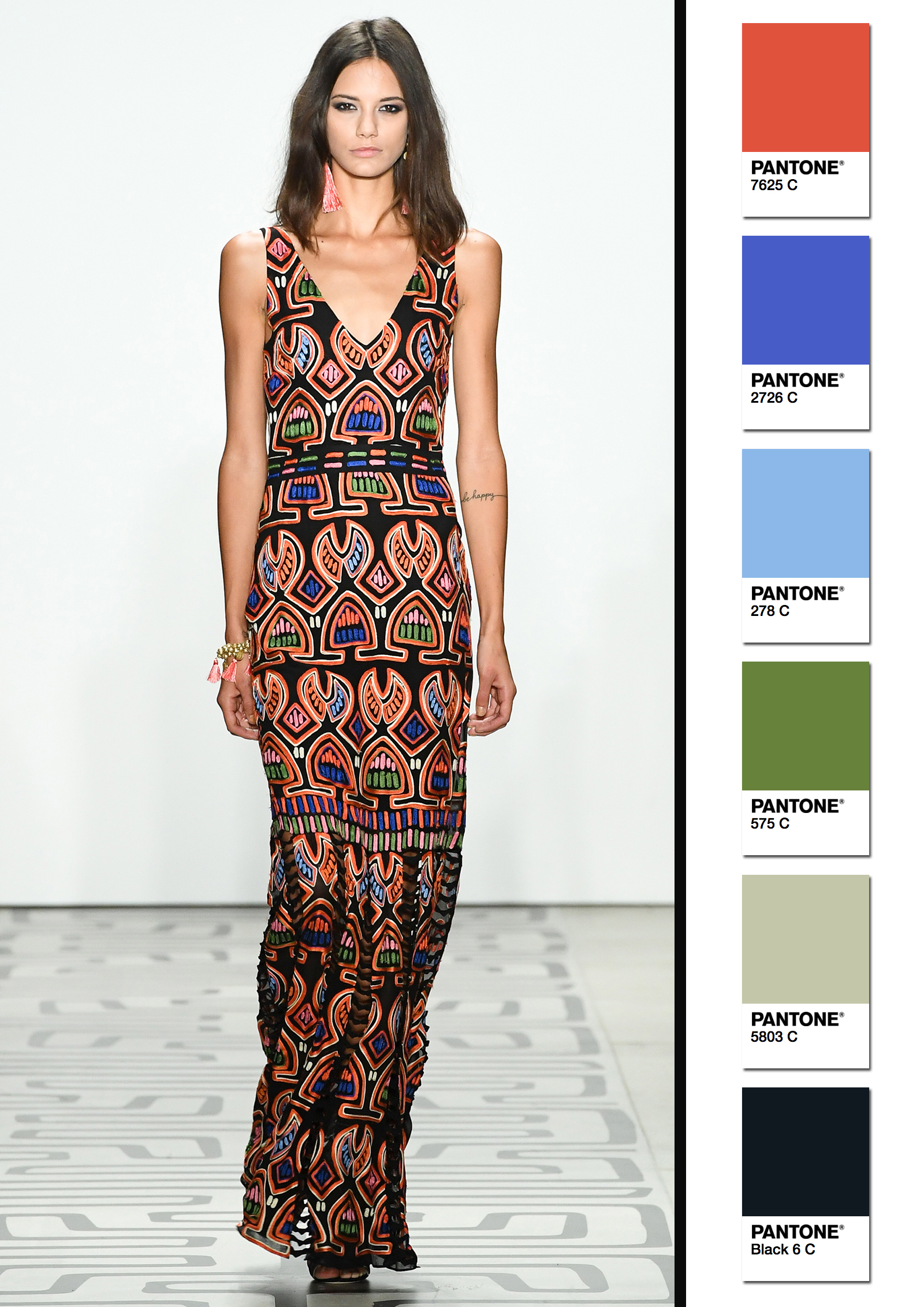 Nicole Miller Spring/Summer 2017 Collection Color Codes 3