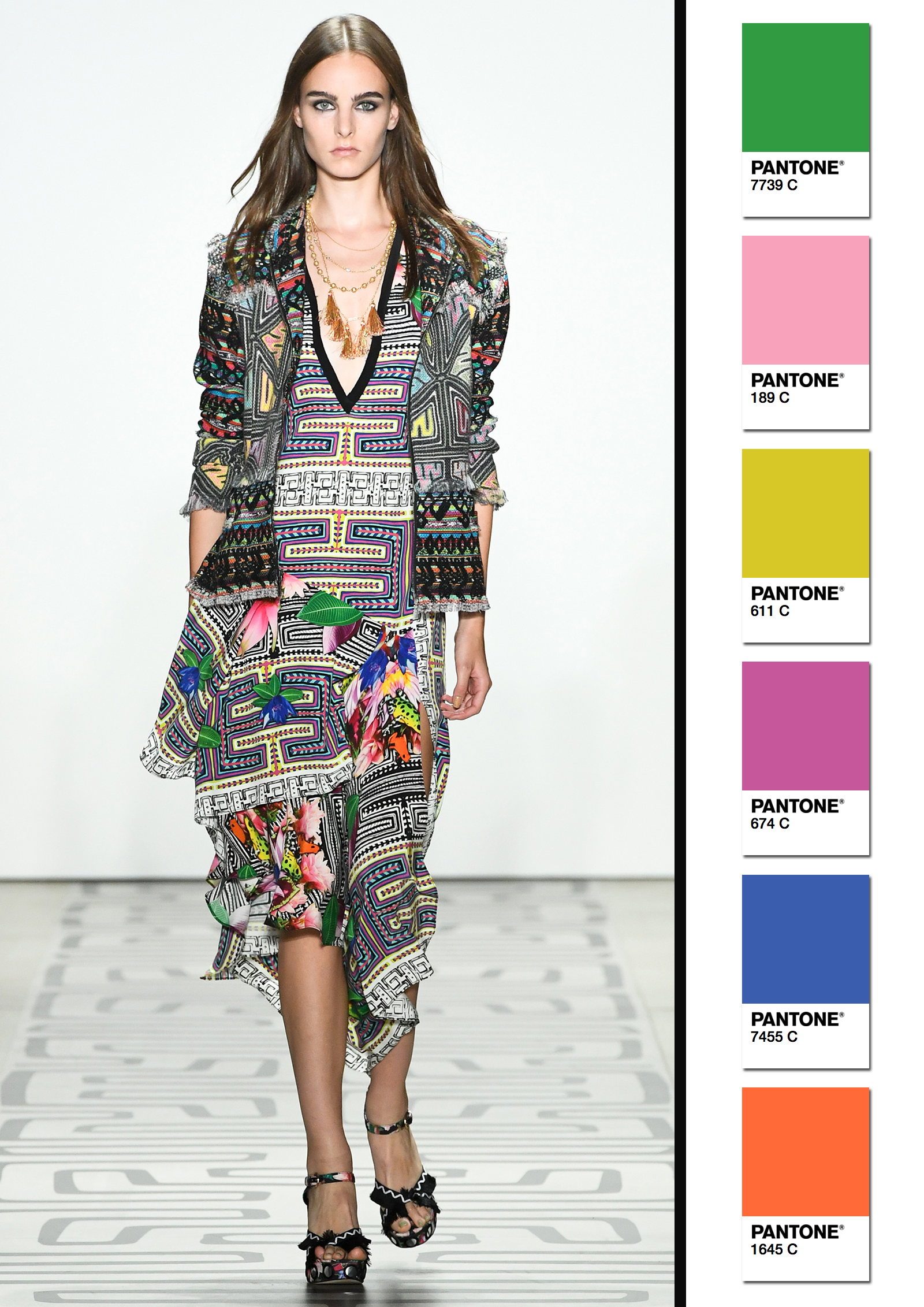Nicole Miller Spring/Summer 2017 Collection Color Codes 4