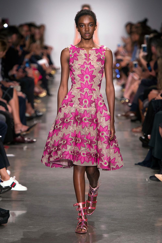 Look 29: Pink Floral Dress