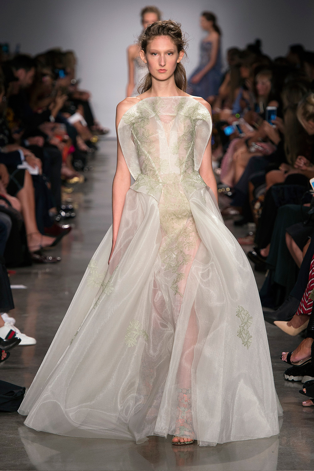 Look 46: Light Green Gown