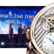 Arnold & Son DTE Awarded 'Best Multi-Time Zone Watch' Middle East Premier Awards 2016