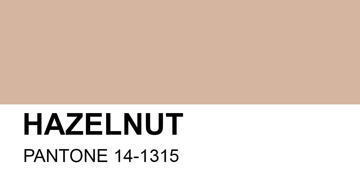 PANTONE 14-1315 Hazelnut