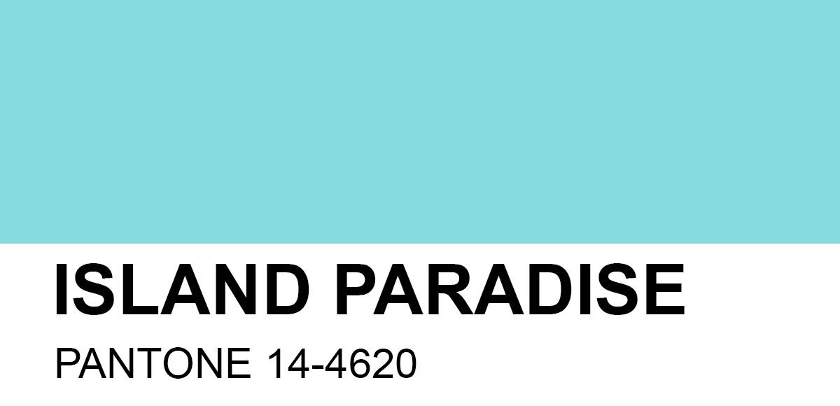 PANTONE 14-4620 Island Paradise