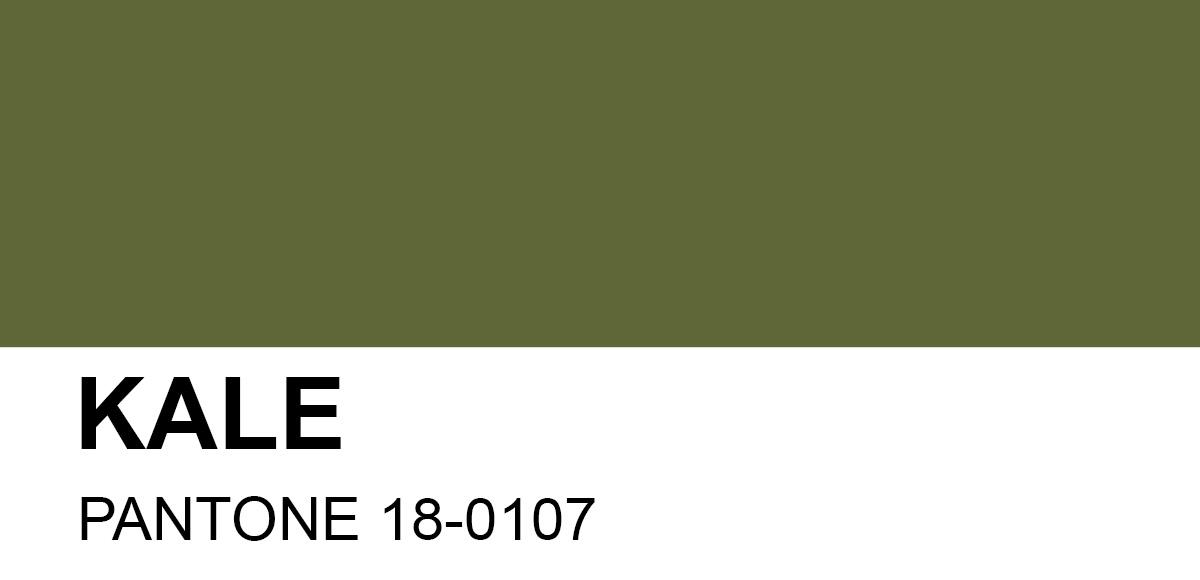PANTONE 18-0107 Kale