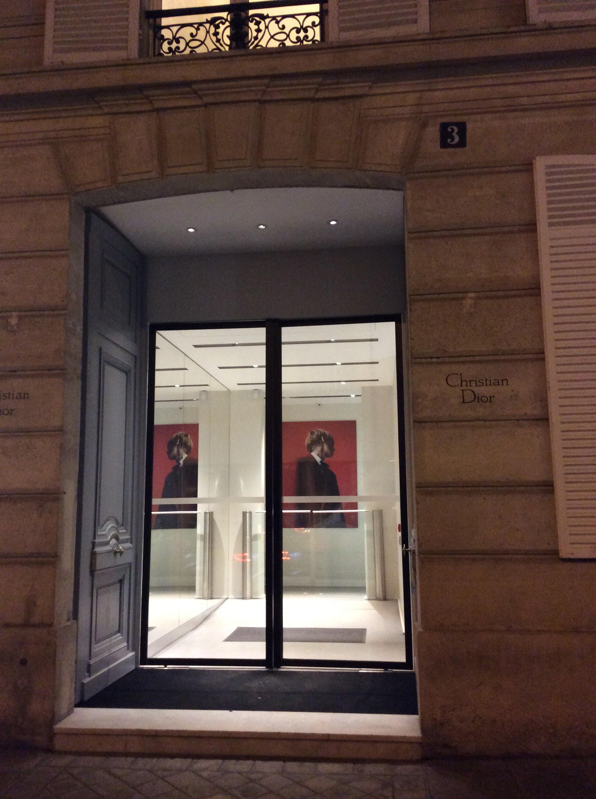 Avenue Montaigne Paris Fashion Windows - Dior