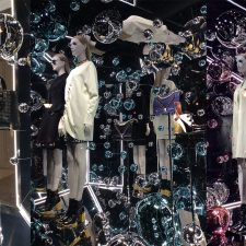 Avenue Montaigne Paris Fashion Windows