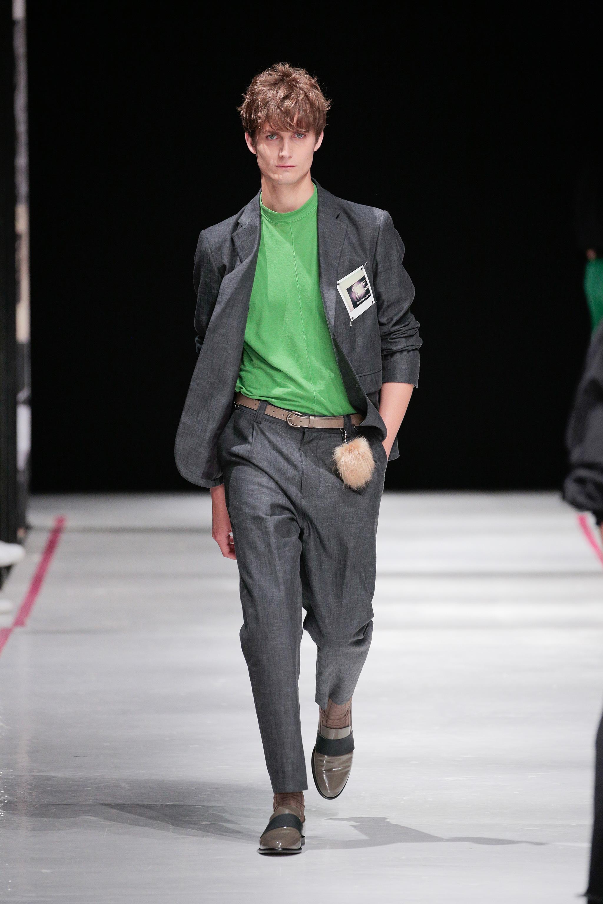 Pantone Color of the Year 2017: PANTONE 15-0343 Greenery   Menswear Robert Geller