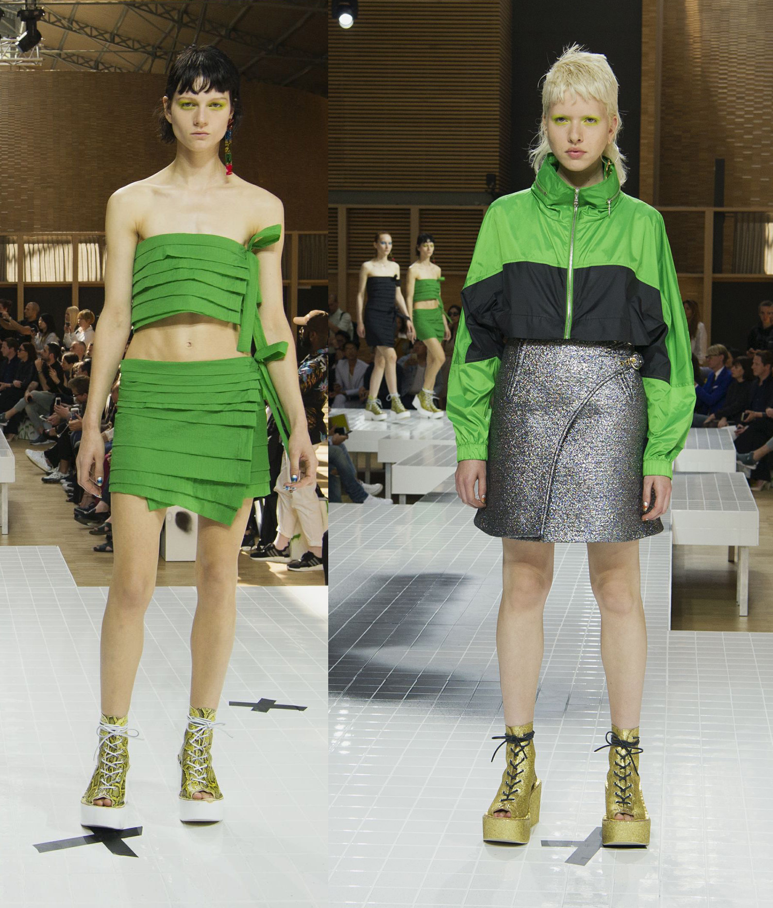 Pantone Color of the Year 2017: PANTONE 15-0343 Greenery | Womenswear Kenzo