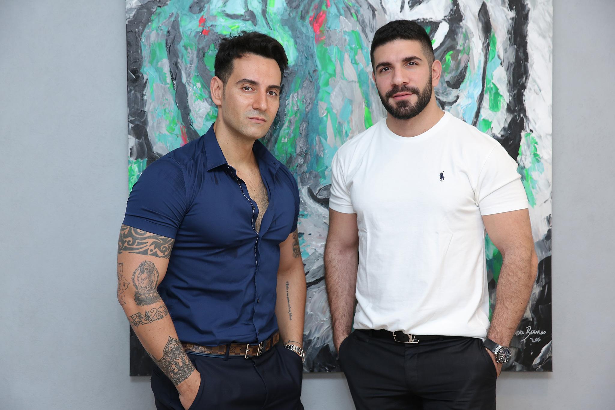 AAVVA Fashion Designers Vincenzo Visciglia & Ahmad Ammar