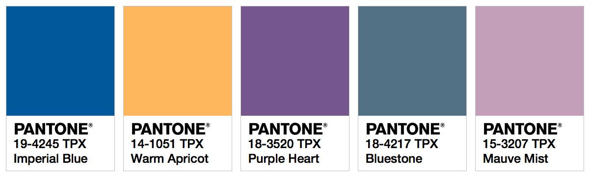 Ispo Color Palette Spring Summer 2018 Fashion Trendsetter