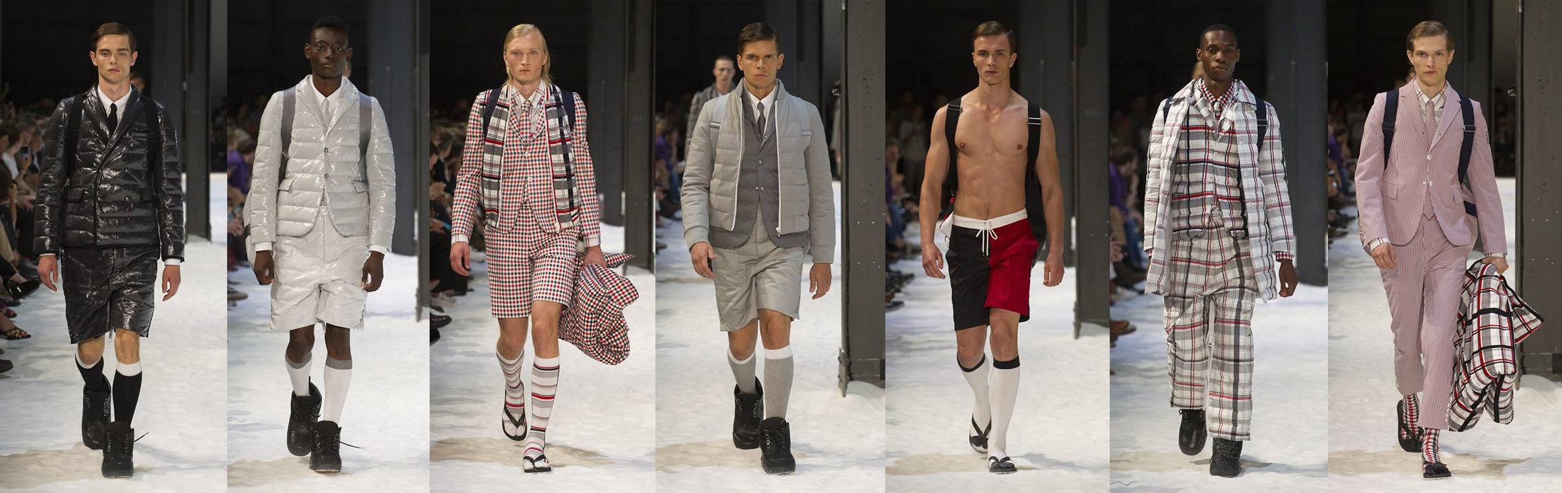 Moncler Gamme Bleu Spring Summer 2018 Collection Fashion