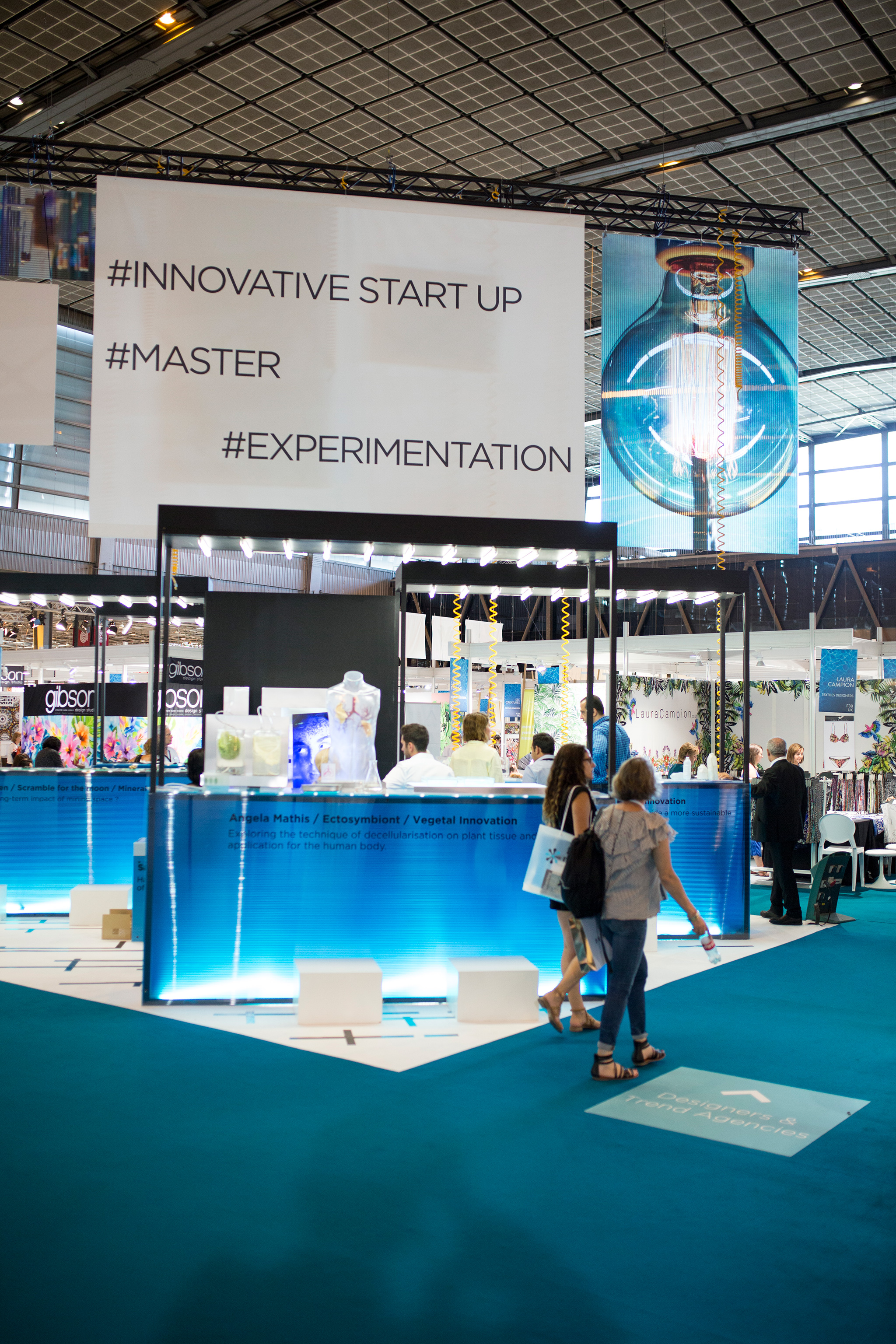 "Innovation Forum & ""Tomorrow!"", Image ©Angel's Sea Studio, Courtesy of Eurovet"