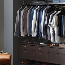 The Container Store Introduced New Additions to elfa Custom Closet Line