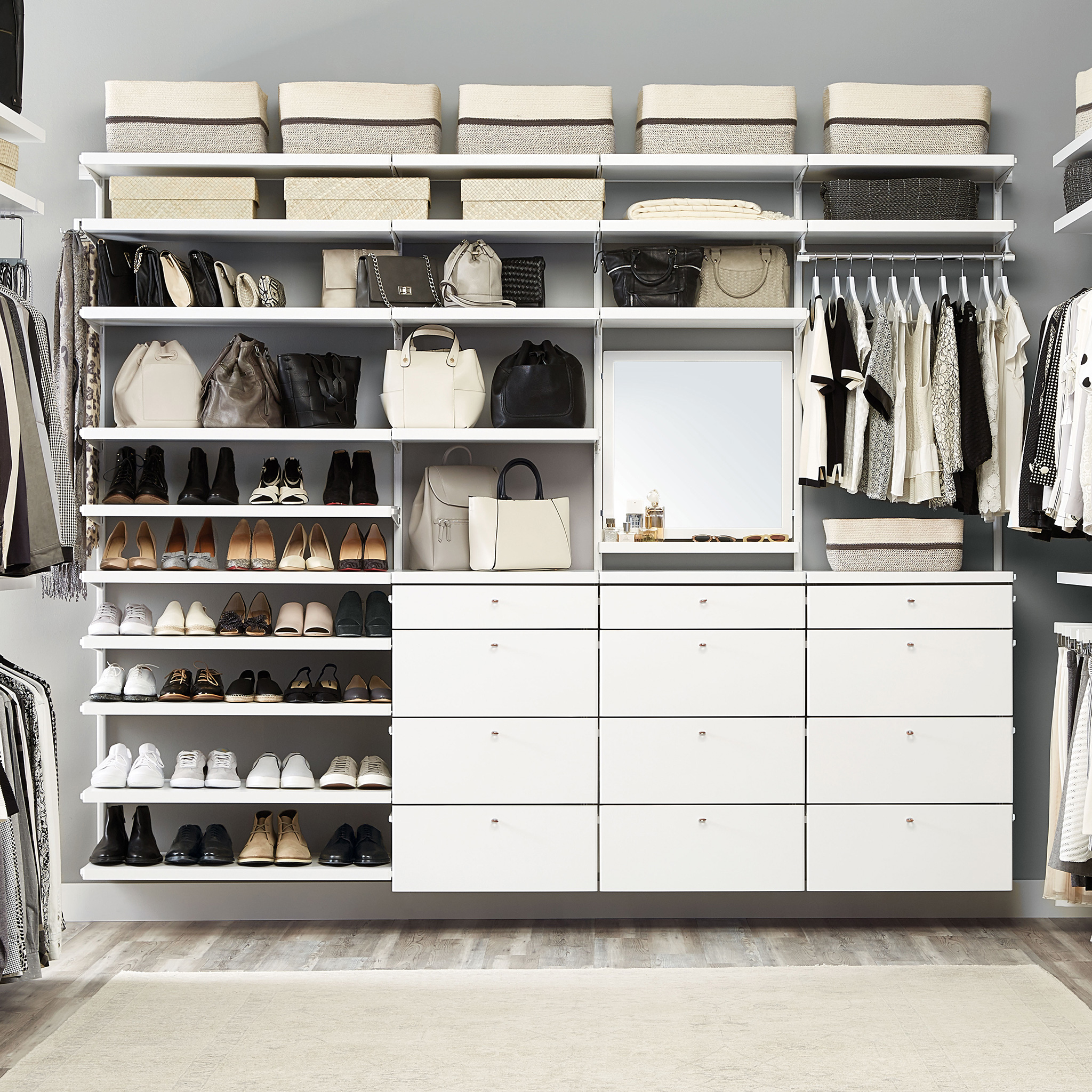 The Container Store Introduced New Additions To Elfa Custom