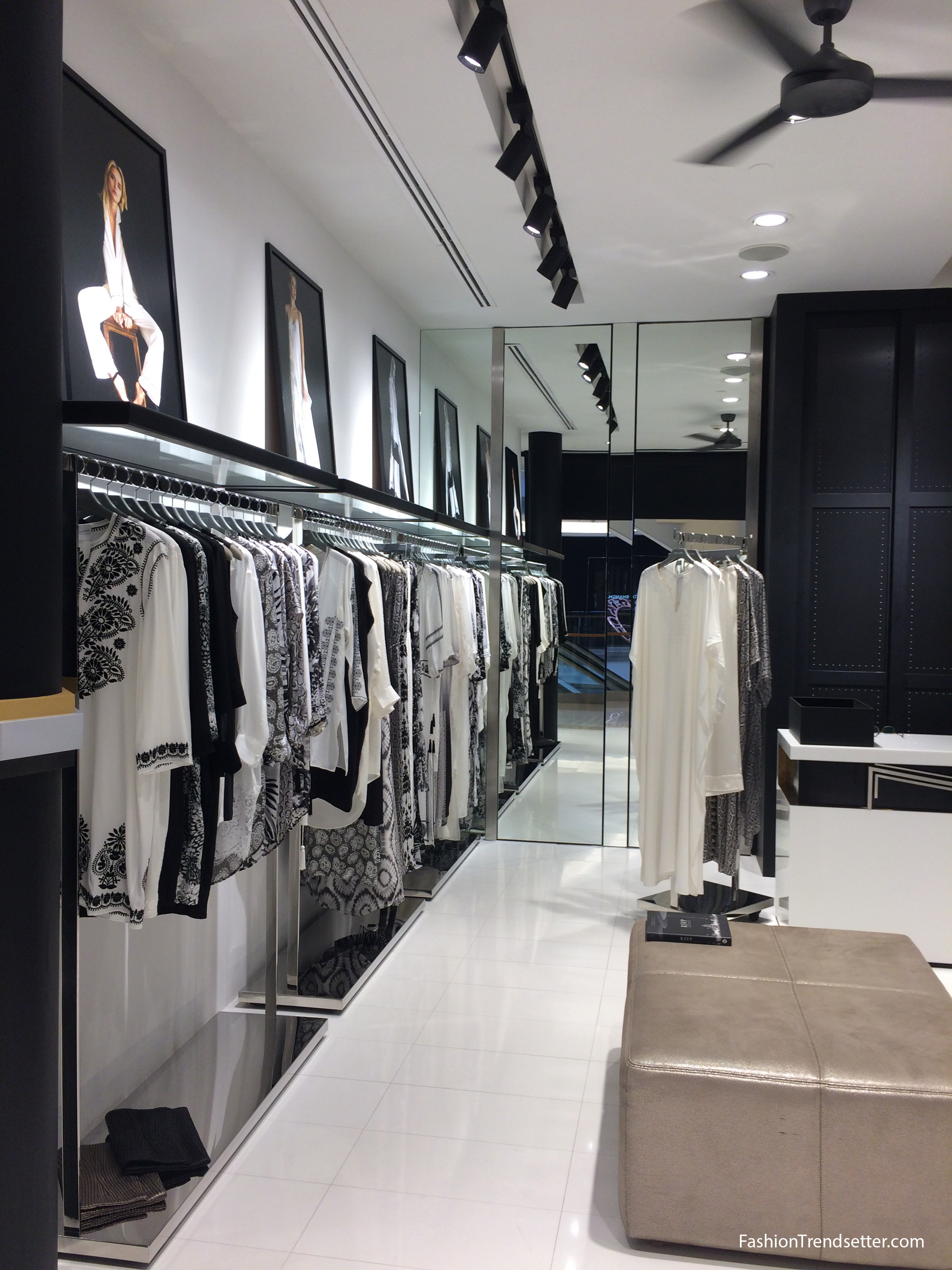 Marie France Van Damme's New Boutique in Bangkok's Exclusive Gaysorn Village
