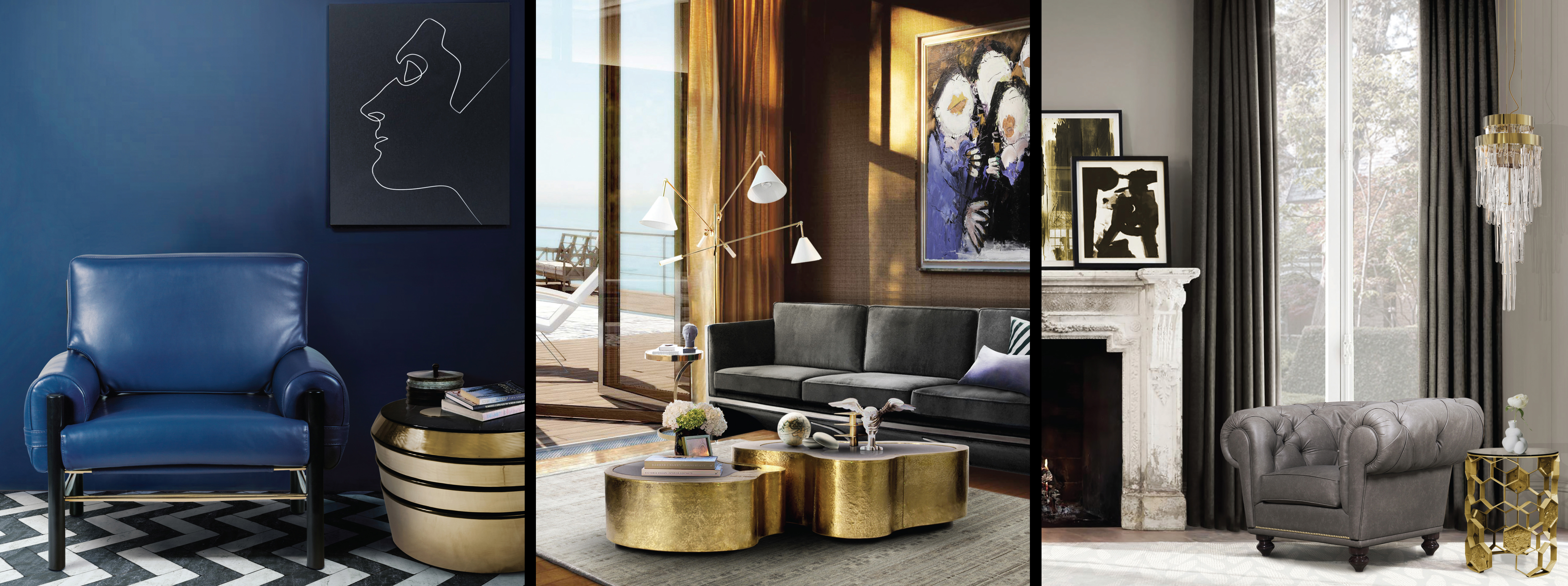 Living Rooms With Modern Classic Inspirations By Covet