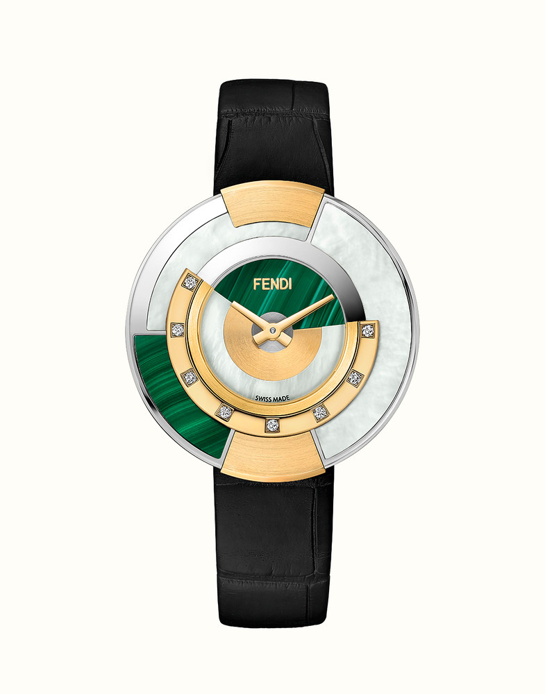 FENDI POLICROMIA | Watch with Diamonds and Genuine Stones