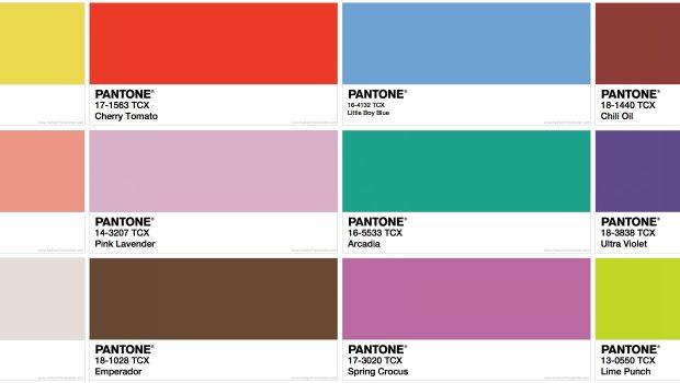 PANTONE COLORS ‹ Fashion Trendsetter