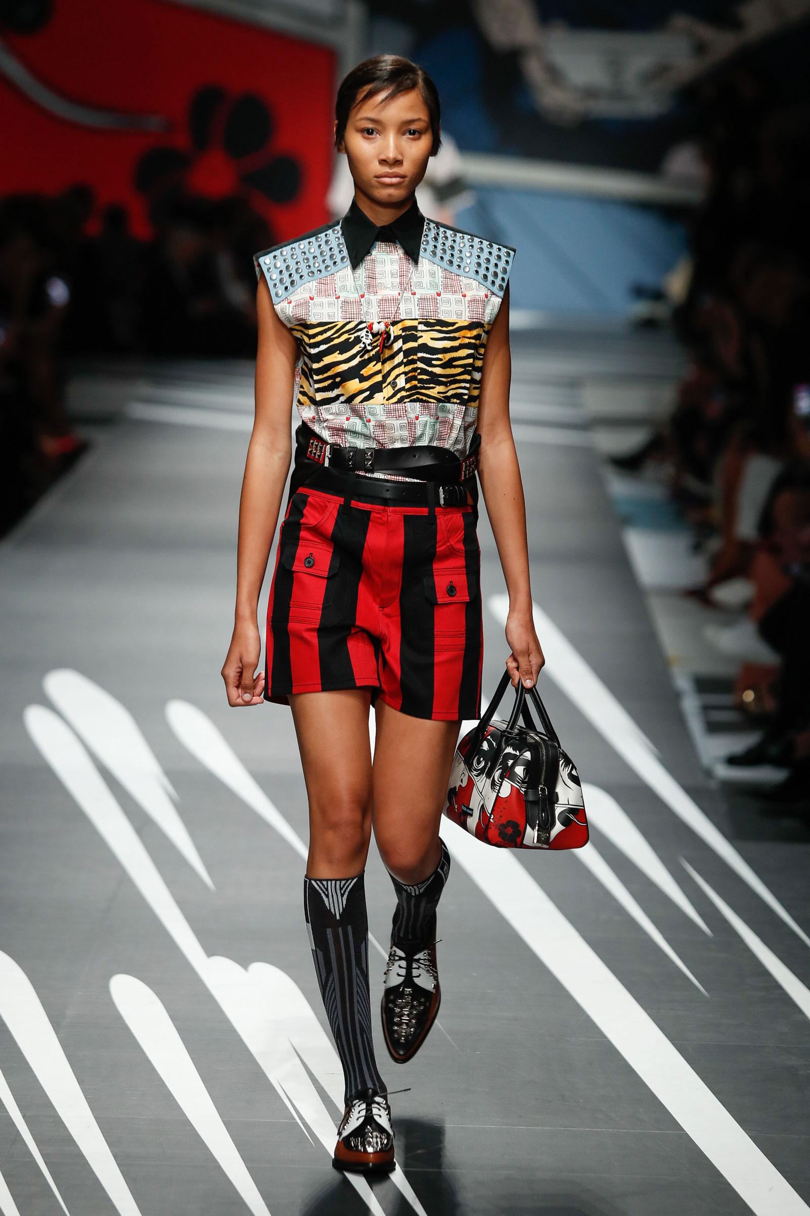 Prada in Milan Fashion Week