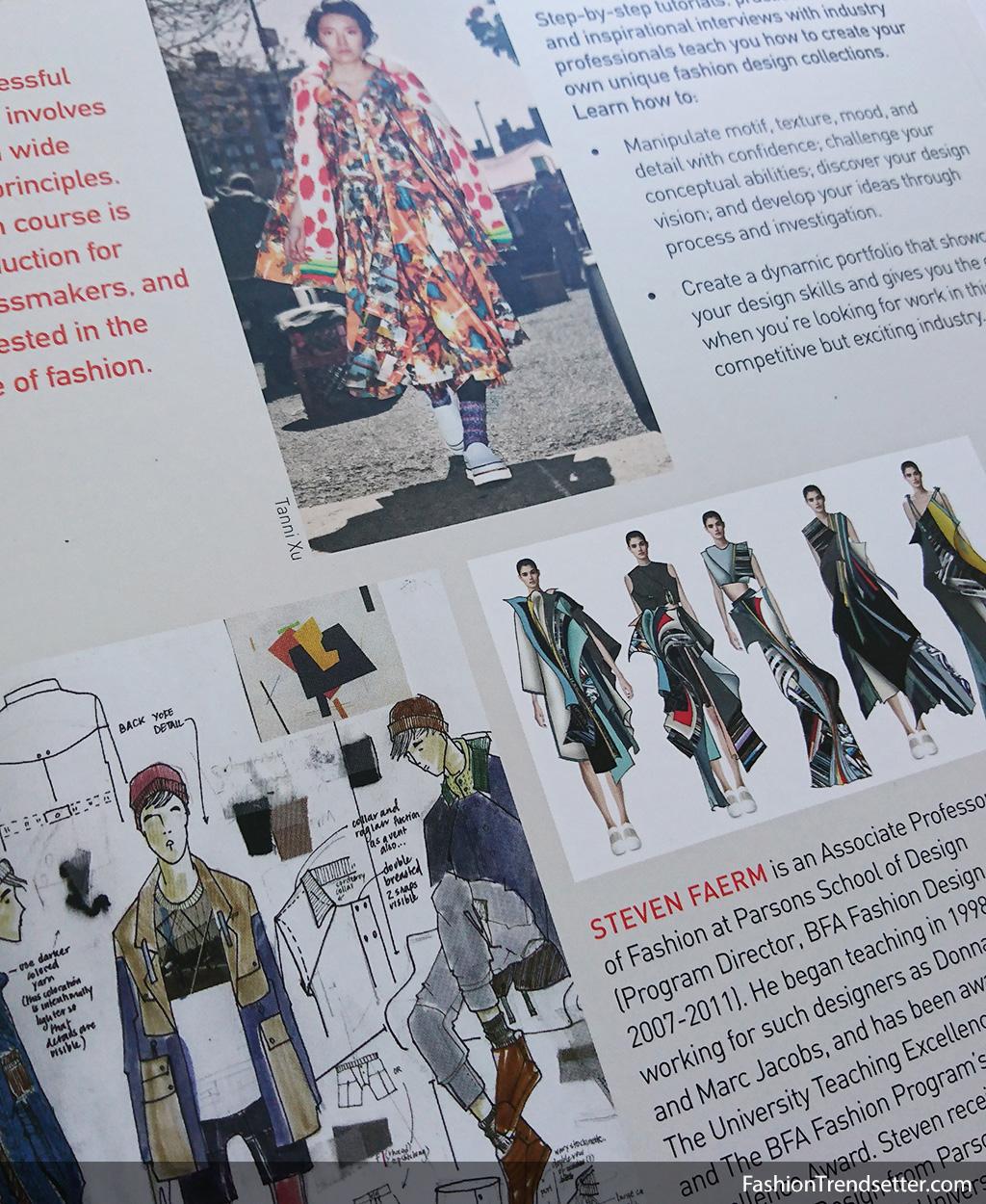 Fashion Design Course Steven Faerm