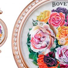 BOVET's Flower Bouquet Timepiece in Pantone Color of the Year, Ultra Violet