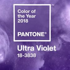 Pantone Color of the Year 2018: PANTONE 18-3838 Ultra Violet