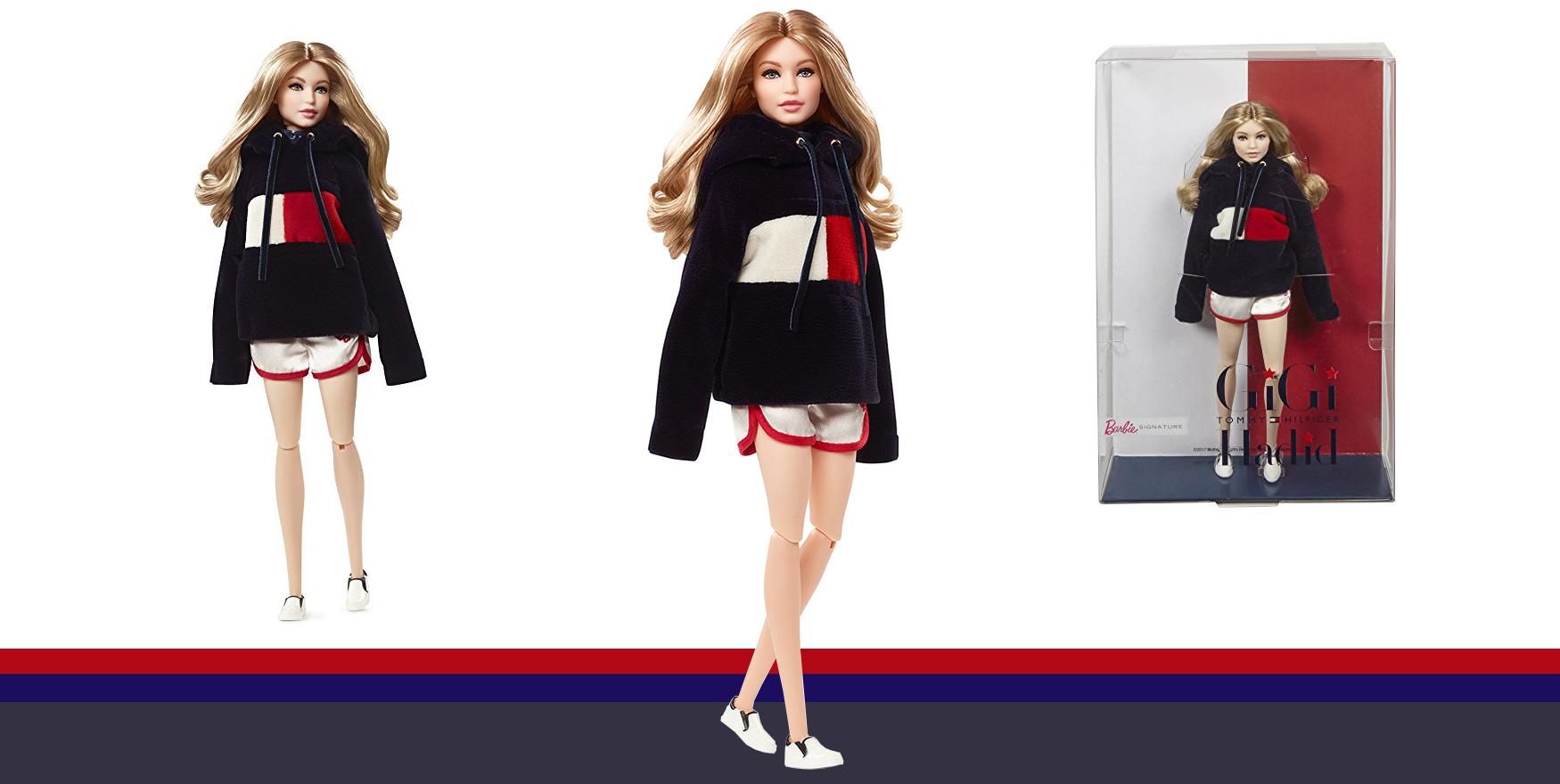 4513d705 Tommy Hilfiger's Gigi Hadid Iconic Barbie® Doll - Fashion Trendsetter