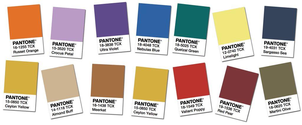 Pantone Fashion Color Trend Report NY Fashion Week Fall
