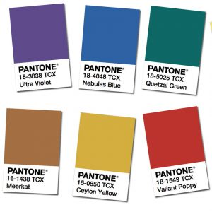 Fall Winter  Fashion Trends Colors