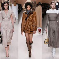 Fendi Fall/Winter 2018/19 Womenswear Collection