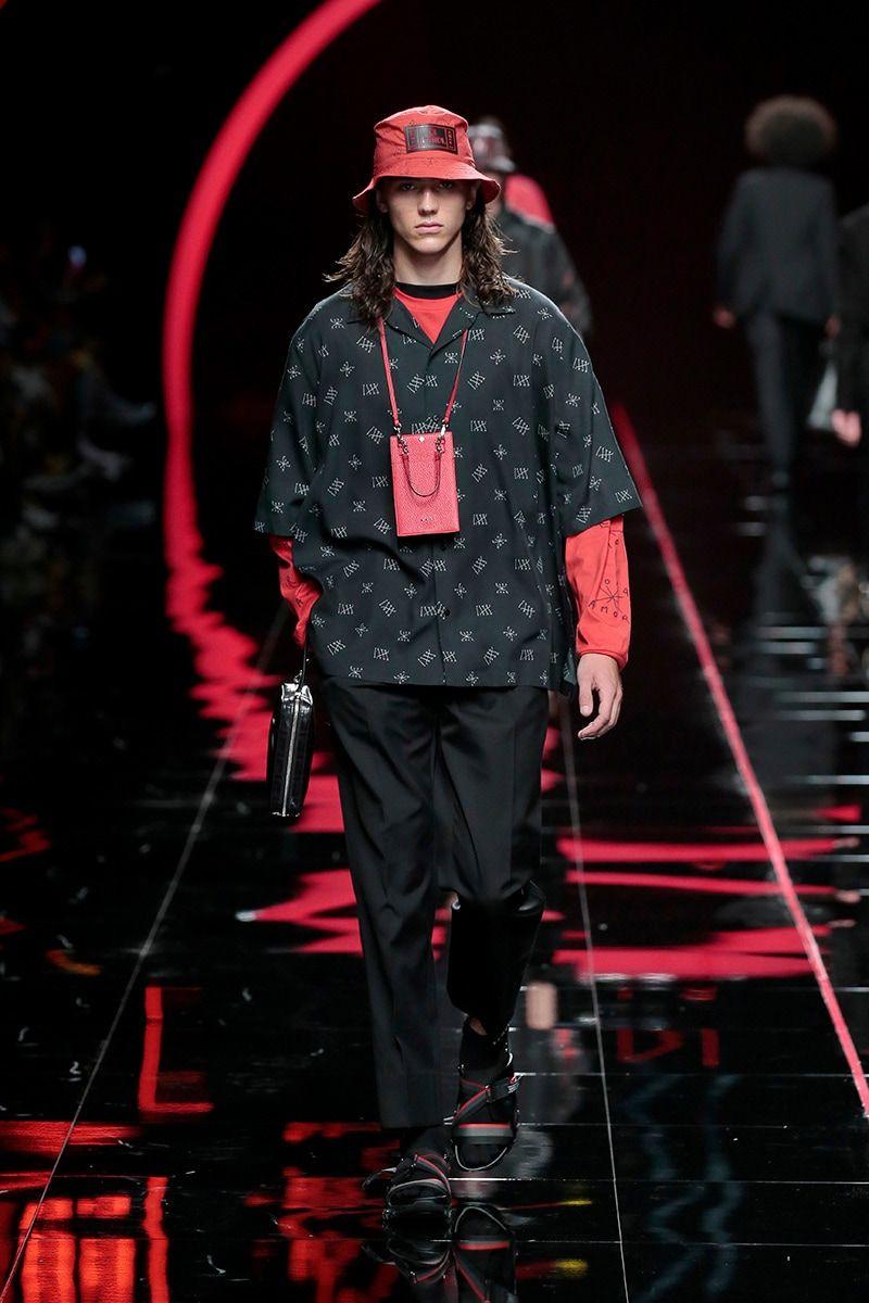fabf389f1b44 Fendi Spring Summer 2019 Menswear Collection - Fashion Trendsetter