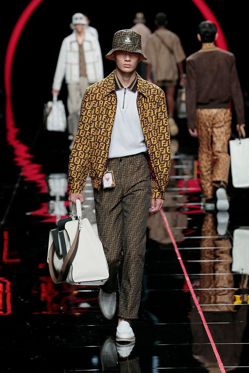 686875366be4 Creative Director Silvia Venturini Fendi collaborated with guest artist  Nico Vascellari whose obsession with playful anagrams and ...
