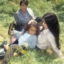#MeAndMyPeekaboo Chapter II: Kim Kardashian West, Kris Jenner and North West