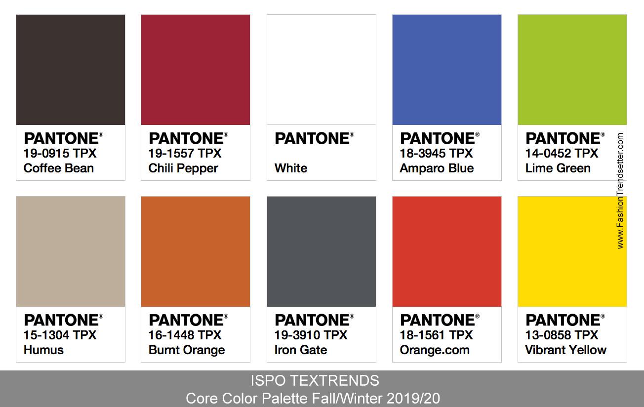 FallWinter 2019 Color Trends photo