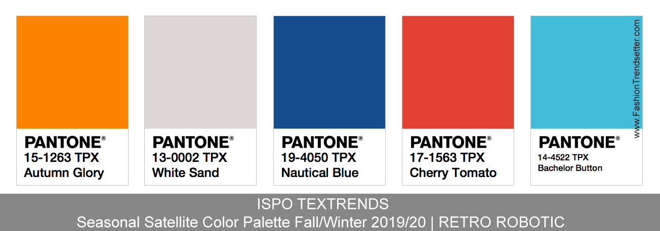 Ispo Textrends Color Trends Fall Winter 2019 20 Fashion Trendsetter