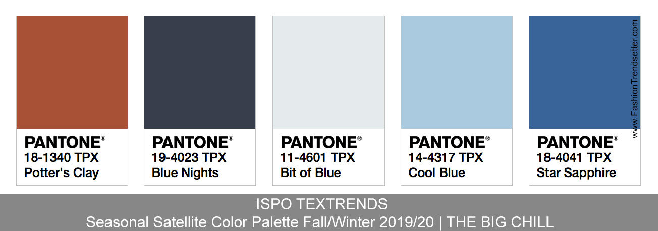 Ispo Textrends Color Trends Fall Winter 2019 20 Fashion