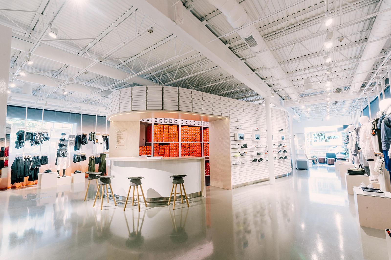 Gaviota testigo Si  New Nike Live Concept Store Unites Digital and Physical Retail - Fashion  Trendsetter
