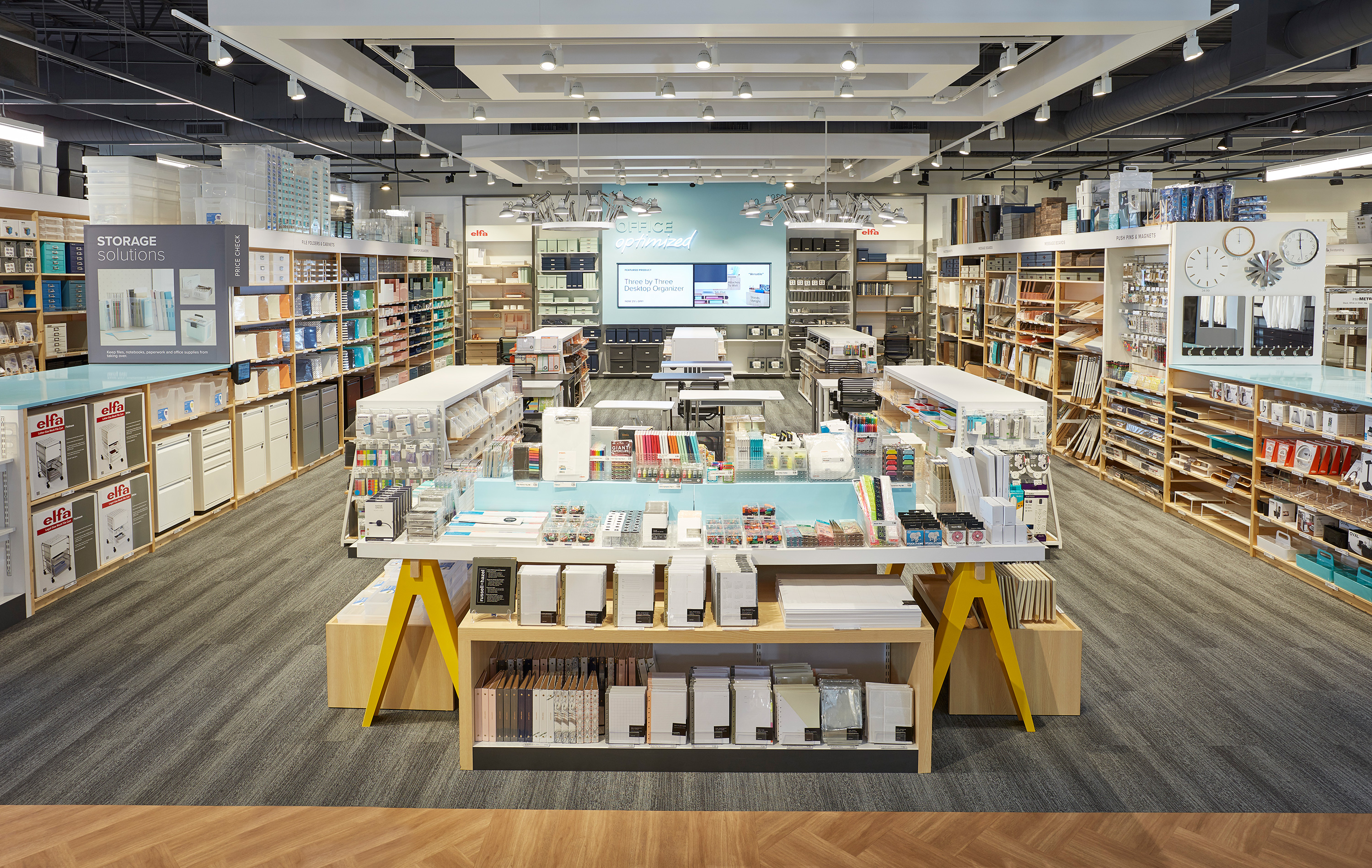 The Container Store Next Generation Store Office Department.