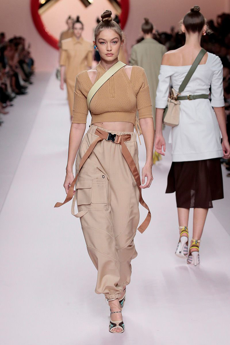 417dbf0ee3e Fendi Spring Summer 2019 Collection - Fashion Trendsetter