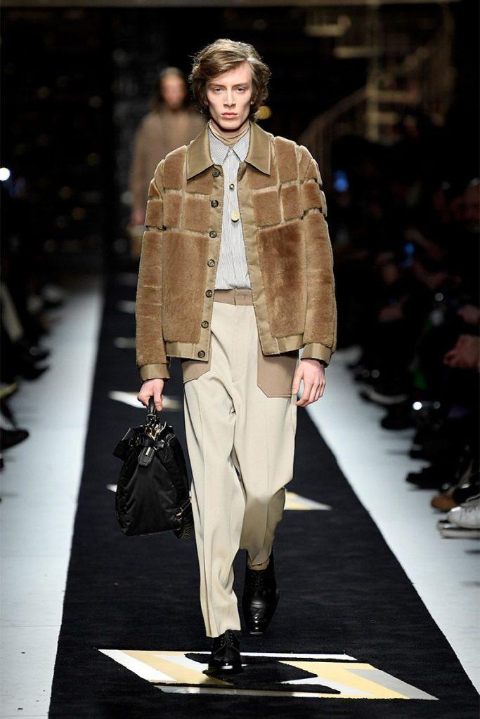 Fendi Menswear Collection Fall/Winter 2019/2020 - Fashion ...