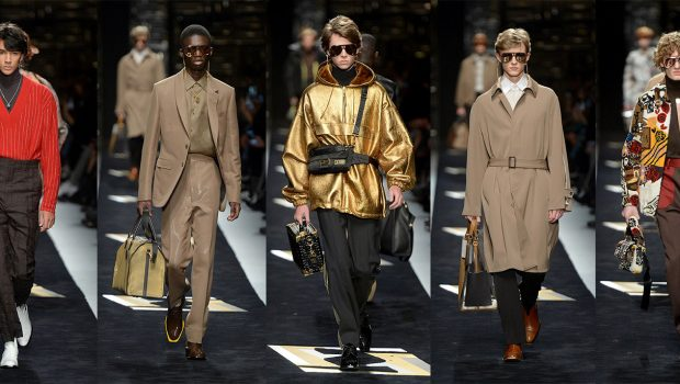 7c70895bed36 Fendi Menswear Collection Fall Winter 2019 2020