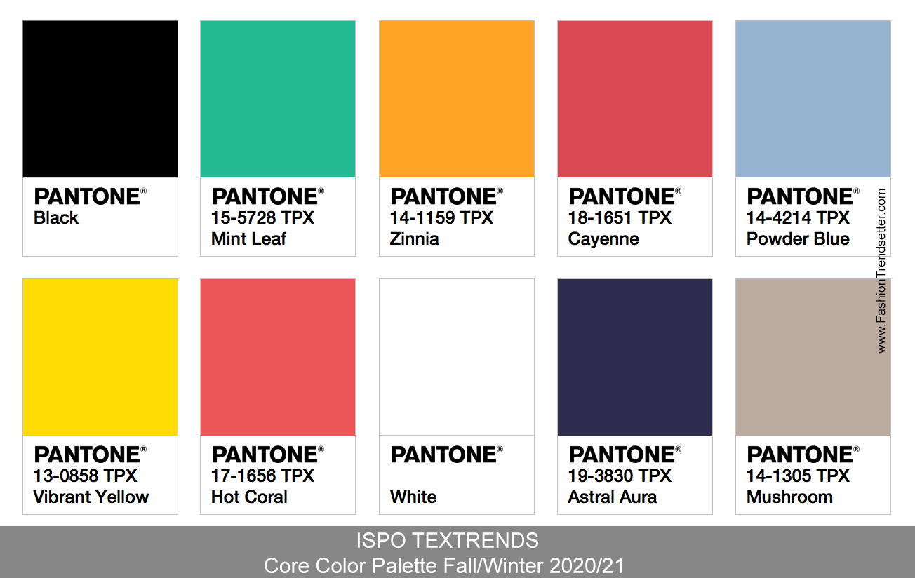 Color Trends For 2020.Pantone Color Of The Year 2020 Fashion