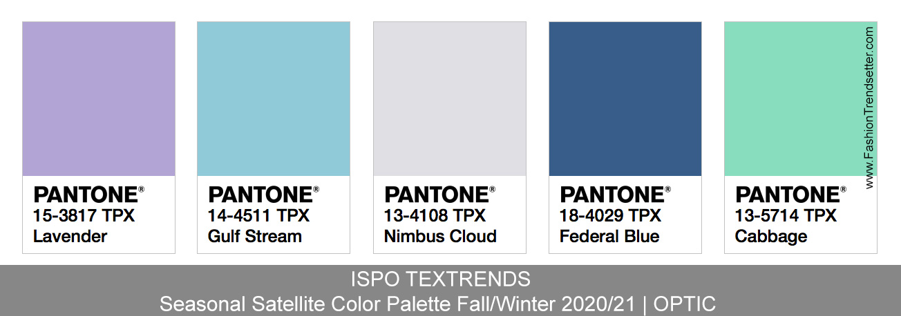 ISPO TEXTRENDS Color Trends Fall/Winter 2020/21 - Fashion Trendsetter