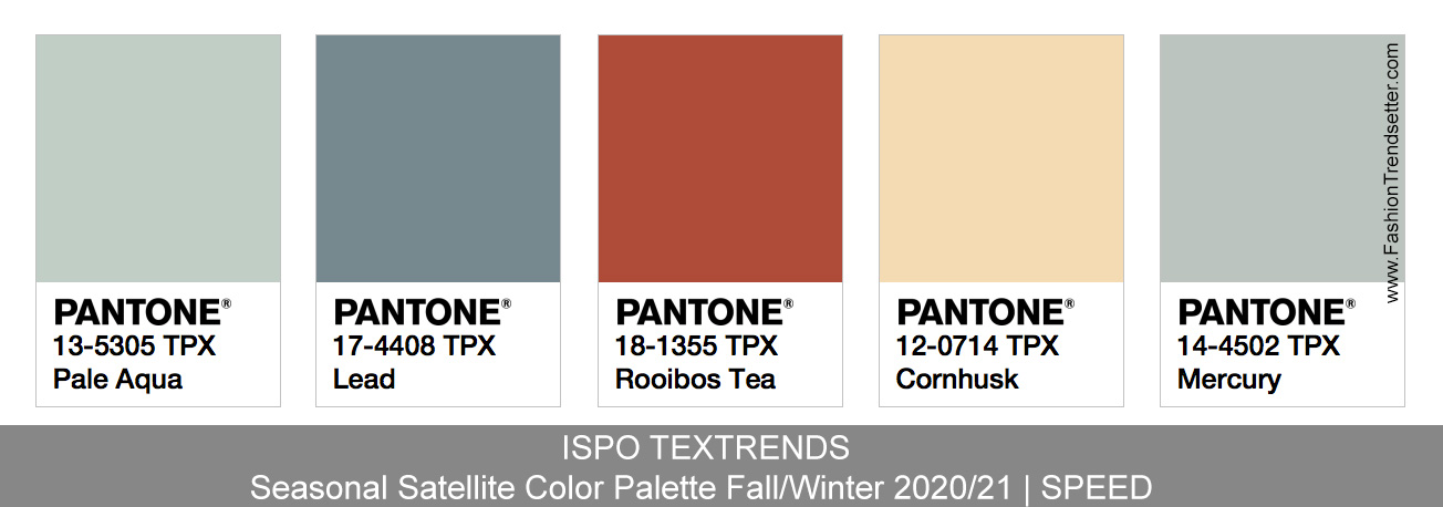Fall Color Trends 2020.Ispo Textrends Color Trends Fall Winter 2020 21 Fashion