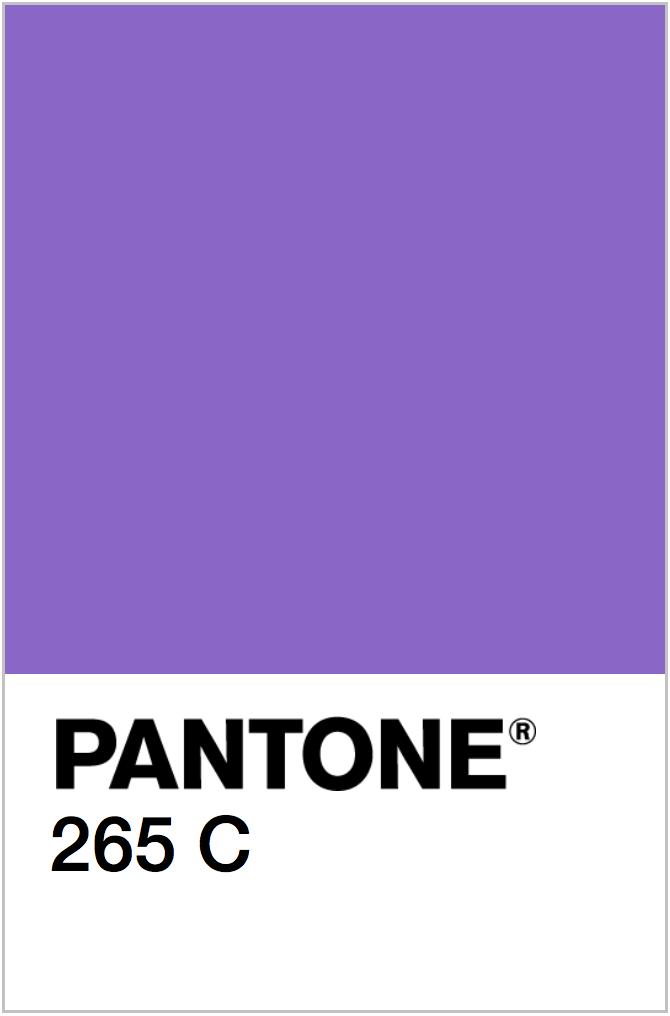 PANTONE NEON PURPLE COLOR SWATCH