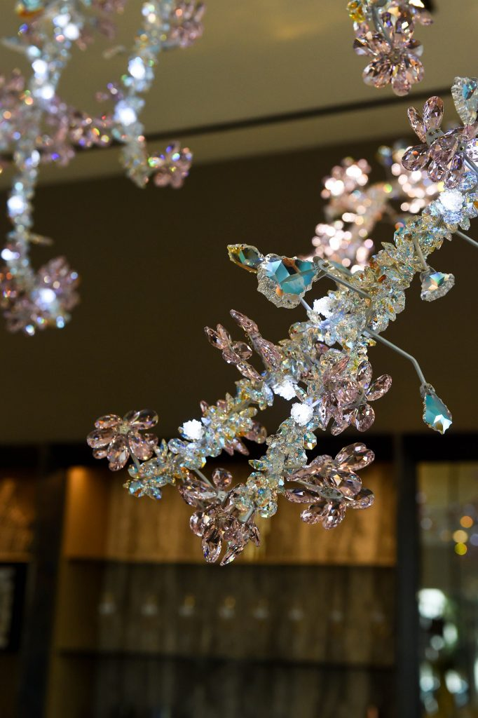 244434d764 A trade seminar for design industry professionals took place at the showroom  on February 21, focusing on integrating Swarovski designs and crystal into  home ...